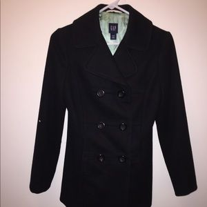 NWOT GAP Pea Coat, XS